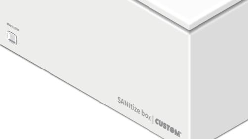 Custom propone SANItize box, il sistema di sanificazione ad ozono che neutralizza virus e batteri