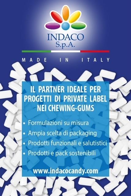 Indaco investe in innovazione e lancia il chewing-gum biodegradabile