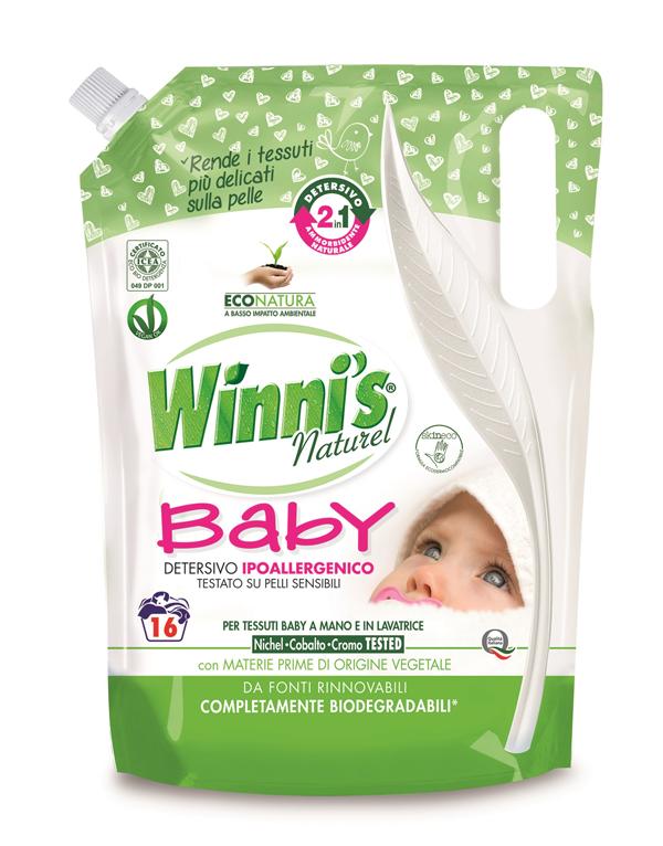 """Winni's lancia il primo prodotto della nuova linea """"Baby"""""""