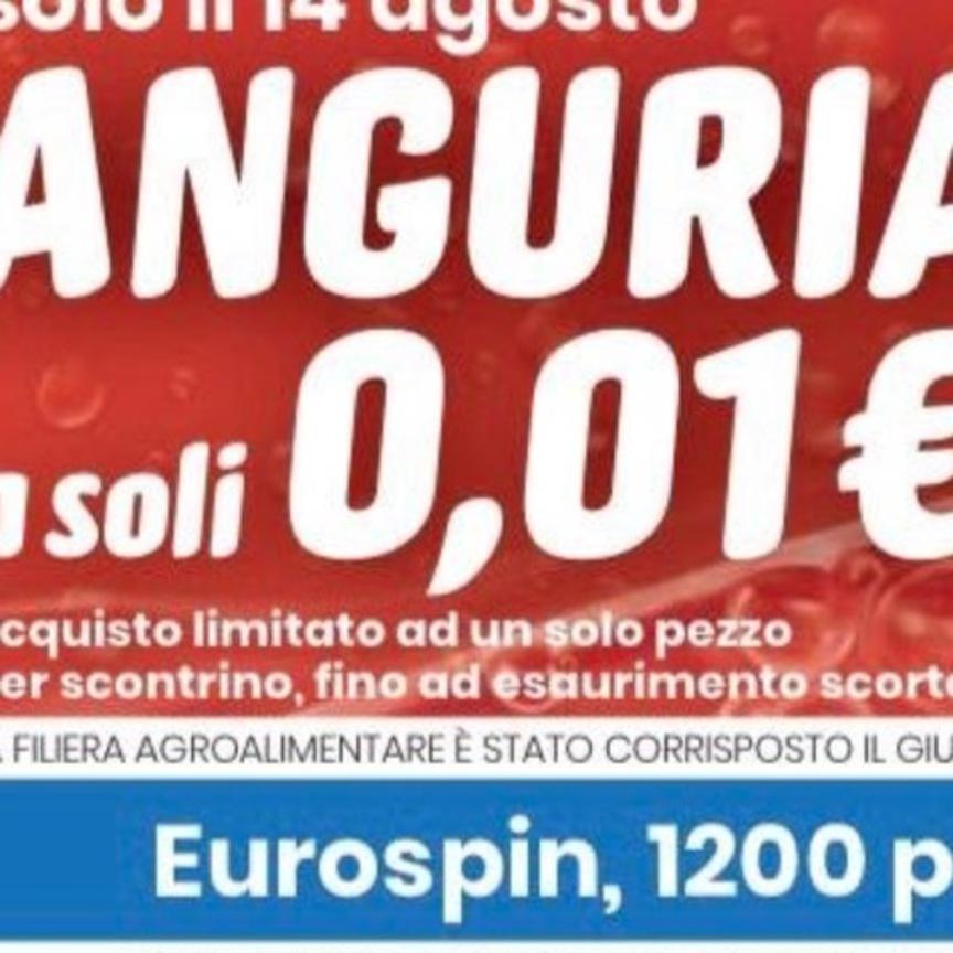 Eurospin e l'insulto alle filiere