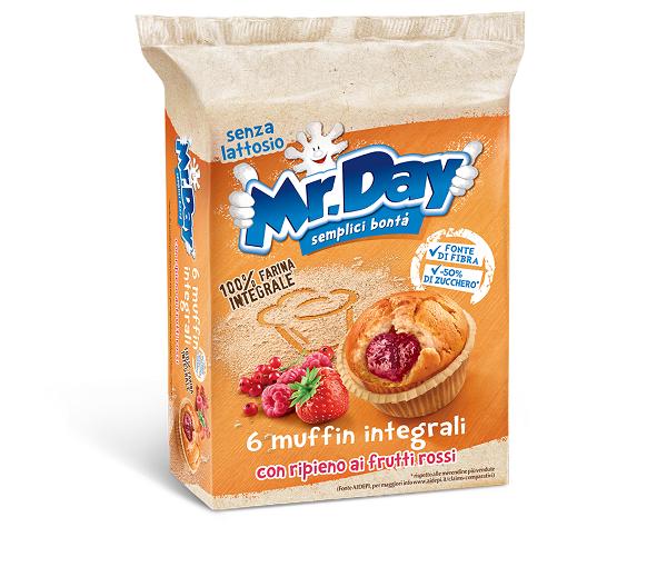Mr. Day presenta il Muffin integrale ai frutti rossi